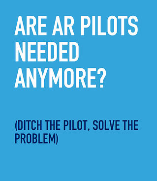 are ar pilots needed